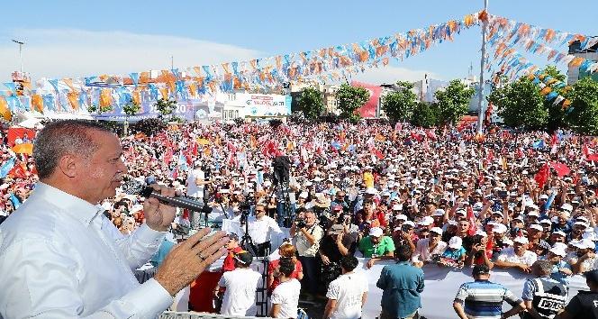 Cumhurbaşkanı Erdoğandan Yalovada yasal değişiklik mesajı