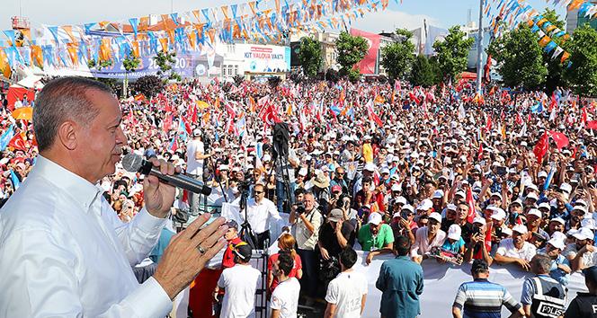 Cumhurbaşkanı Erdoğandan Cumhurbaşkanlığı adaylığı için yasal değişiklik mesajı