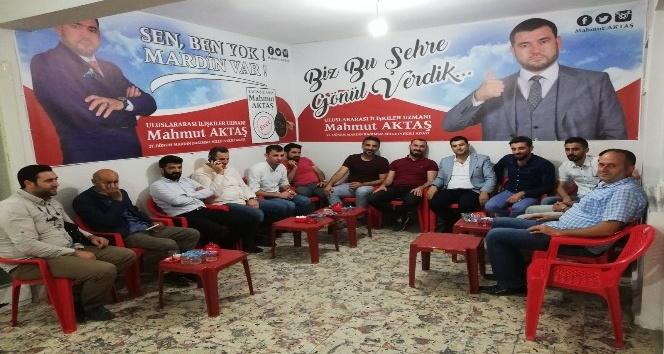 """Mardin bağımsız milletvekili adayı Mahmut Aktaş: """"Kentin sorunlarını projelerle çözeceğiz"""""""