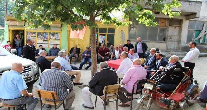 Milletvekili Kırcalı'ya hemşehrilerinden yoğun ilgi