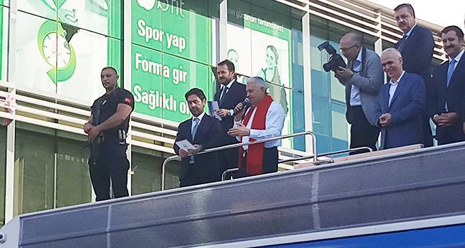 Başbakan Yıldırım: 'Bunlar kafayı takmış, Erdoğan gitsin de ne olursa olsun'