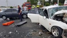 Kahramanmaraşta feci kaza: 1 ölü, 6 yaralı