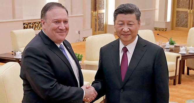 ABD Dışişleri Bakanı Pompeo, Çin Devlet Başkanı Xi ile görüştü