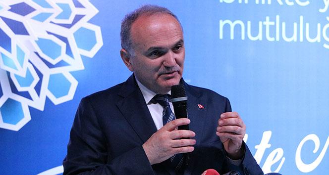 Bakan Özlü: Türkiyenin tek açığı var orada teknoloji açığıdır