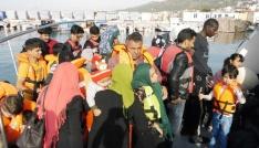 Çanakkalede 41 kaçak göçmen yakalandı