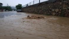 Tokatta kuvvetli yağış
