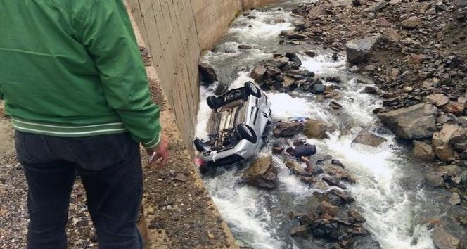 Gümüşhanede trafik kazası: 1 ölü