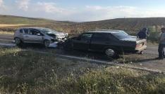 Sungurluda zincirleme kaza: 8 yaralı