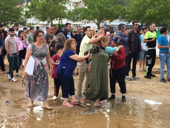 Turistler dehşeti yaşadı... Göl kenarında facia