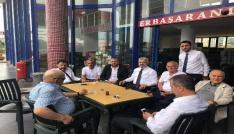 AK Parti milletvekili adayları seçim çalışmalarını bayramda da sürdürüyor