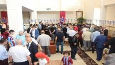Trabzonsporda bayramlaşma töreni düzenlendi
