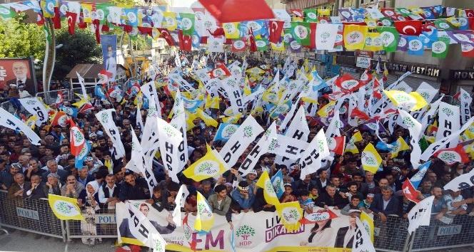 Hakkaride HDP mitingi