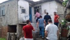 Çanakkalede eve yıldırım düştü: 1 yaralı