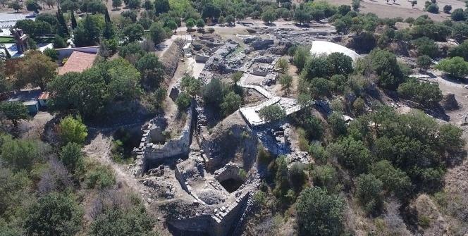 Troya'nın eşsiz tarihi havadan görüntülendi