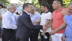 Ereğlide  AK Partiye coşkulu karşılama