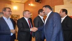 AK Parti Mardin İl Başkanlığında bayramlaşma