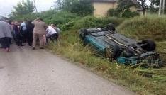 Karabükte trafik kazaları: 7si çocuk 16 yaralı