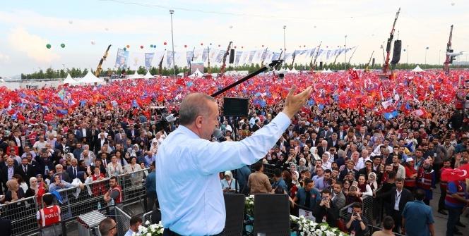 Büyük İstanbul Mitingi'nden kareler