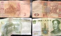 Taksimde otelden atılan paralar izdihama neden oldu
