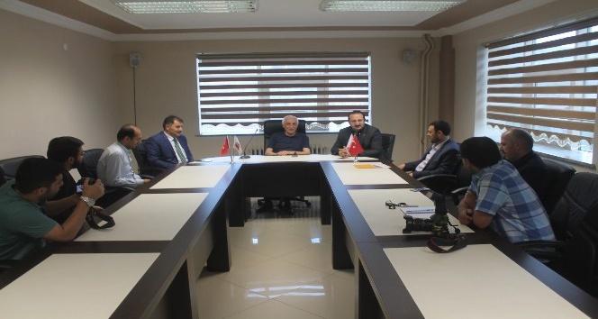 AK Parti heyetinden BGCye ziyaret