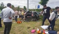 Çorumda trafik kazası: 9 yaralı