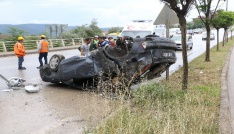 Karabükte meydana gelen kazalarda 2 kişi yaralandı