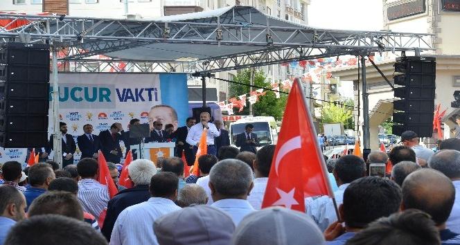"""Bakan Soylu: """"Milletin adamı Recep Tayyip Erdoğanla birlikte bu makus talihi yendik"""
