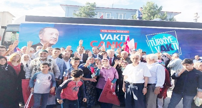 AK Parti Çankırı Teşkilatına Şabanözünde büyük coşku