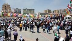 HDPnin Kızıltepe ve Nusaybin mitingleri boş kaldı