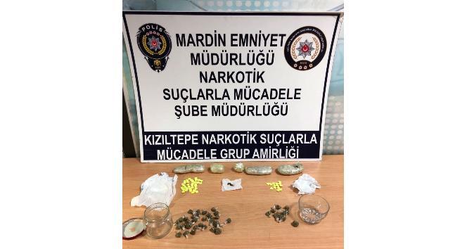 Kızıltepede uyuşturucu tacirlerine baskın