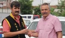 Adanaya düğüne geldi, otomobili çalındı, polis 24 saat geçmeden buldu