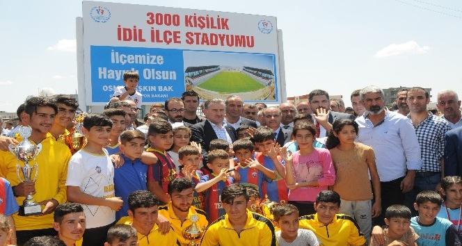 """Gençlik ve Spor Bakanı Bak: """"Sporun gücü terörü yenecektir"""""""