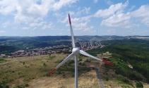 Türkiyenin Enerji Gülleri havadan görüntülendi