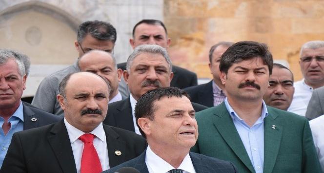 Esnaf Odaları Birlik Başkanlarından AK Parti adayı Necmettin Erkana destek