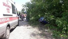 Çaycumada trafik kazası; 1 yaralı