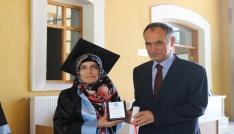 Başkan Türkmen KTÜ Güzel Sanatlar Fakültesinde mezuniyet törenine katıldı
