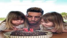 Sosa, doğum gününü eşi ve kızlarıyla kutladı