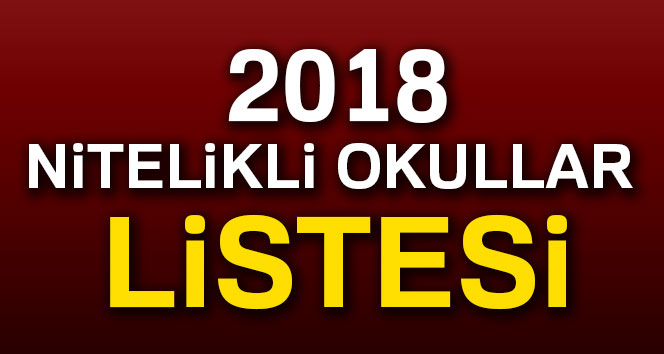 2018 Nitelikli Okullar Listesi MEB LGS İstanbul|Ankara|İzmir
