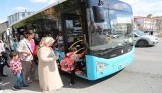 Sivasta mesire alanlarına otobüs seferleri başladı