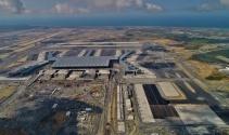 3. Havalimanı tarihi sefer öncesi havadan görüntülendi