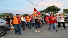 Bigada Galatasaray 21. şampiyonluğunu kutladı