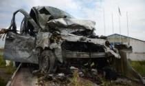 Eskişehirde feci kaza; 5 ölü
