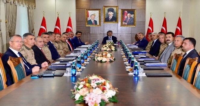 Vali Atik, Bölge Güvenlik Toplantısına katıldı