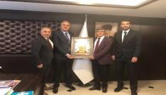 Bozüyük Belediyesi İdman Yurdu Spor Kulübünden Voleybol Federasyonuna ziyaret
