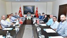 TÜİOSB Müteşebbis Heyet Toplantısı Vali Su başkanlığında yapıldı