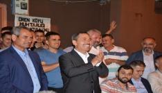 """Uysal """"Bu ülkenin Erdoğana ihtiyacı var"""""""