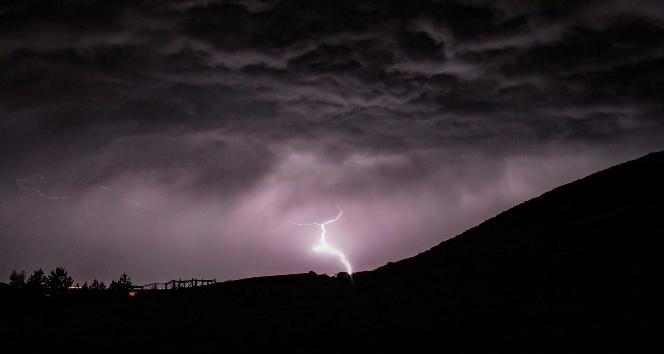 Meteorolojiden Ardahan için yıldırım uyarısı