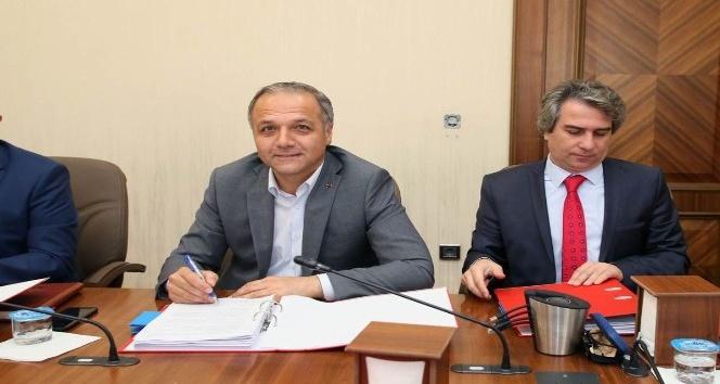 Amasyada OKA destekli 10 projenin sözleşmesi imzalandı