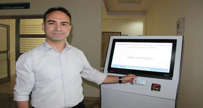 Karaman Devlet Hastanesinde kiosk uygulaması