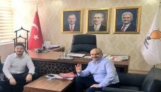 İYİ Partili vekil adayından AK Partiye ziyaret